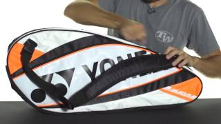 Yonex Pro 6-Pack Racquet Bag video