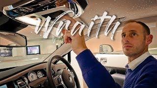 Rolls Royce Wraith - The driver