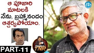 Tanikella Bharani Exclusive Interview PART 11 || Frankly With TNR || Talking Movies With iDream