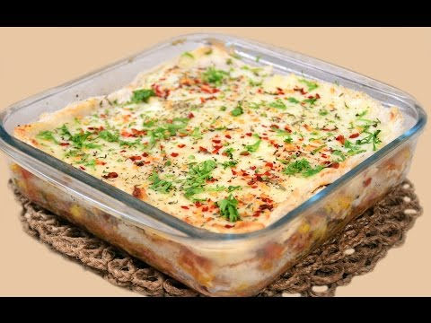 Easy Bread Lasagna Recipe   Quick Party Starter - Appetizer Idea