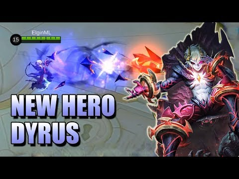 DYRUS NEW HERO IN MOBILE LEGENDS 😈 PRINCE OF ABYSS