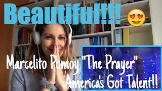 "Marcelito Pomoy ""The Prayer"" AGT The Champion (Video Reaction)"