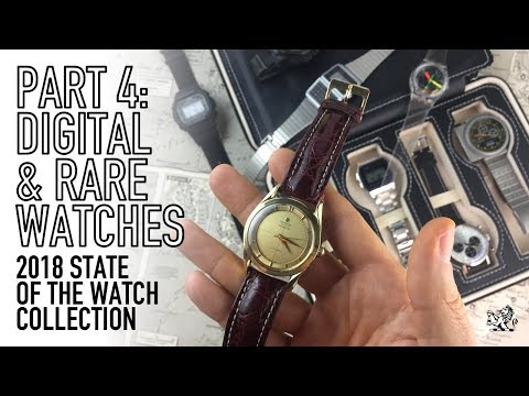 My Collection 2018 Part 4 – Rare & Digital Watches – Universal Geneve, Seiko, Swatch, Casio & More