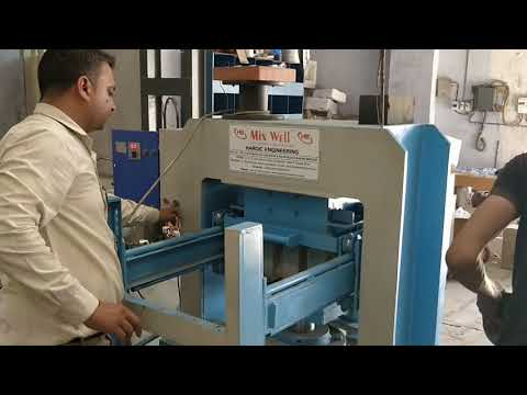 Semi Auto Fly Ash Brick Making Machine