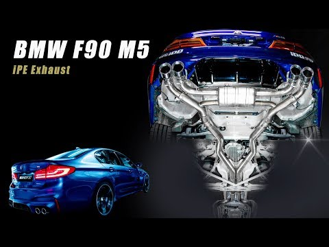 The iPE Exhaust for BMW M5 (F90)