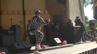 "Anderson .Paak & Free Nationals ""Glowed Up"" Live 2018 2nd Annual .PAAK HOUSE Event Los Angeles CA"