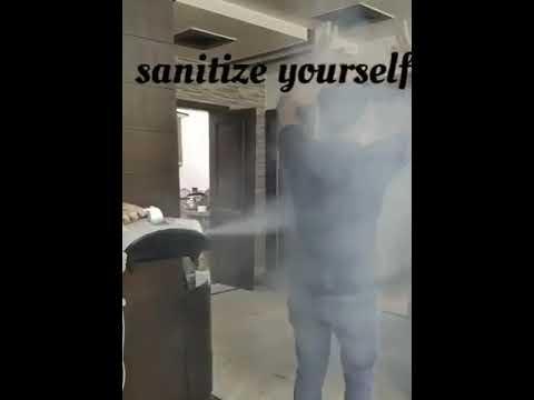 Sanitizer Fogging Machine