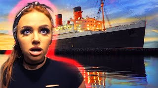 I STAYED OVERNIGHT IN THE MOST HAUNTED SHIP IN THE WORLD (Queen Mary Room B340)