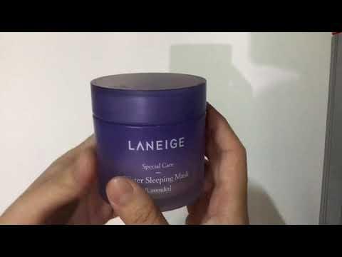 Lavender Water Sleeping Mask by Laneige #2