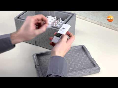 Intégration de l'enregistreur de donnée lors du transport de produit sensible