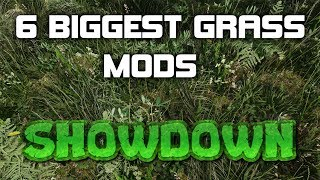 The Great Grass Showdown! SKYRIM SE 2019 | 6 of the BEST Grass Mods Compared | 2K