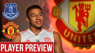 Jesse Lingard expecting tough test at Goodison   Everton v Manchester United   Player Preview