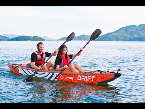 Kayak hinchable Drift ZRay