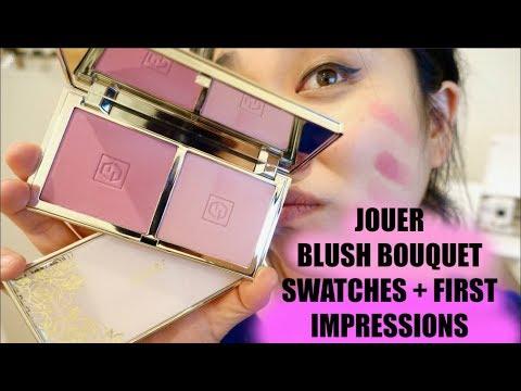 Bouquet D' Amour Six Shade Blush Palette by jouer #7