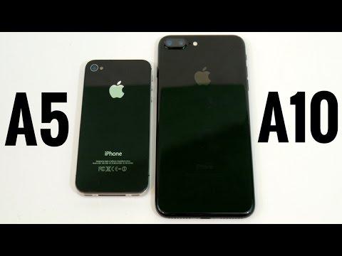 iPhone 4S vs iPhone 7 Plus? (A5 vs A10)