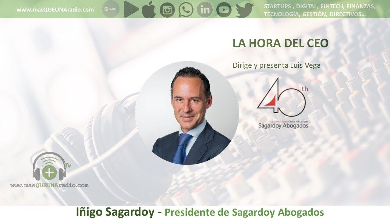 IÑIGO SAGARDOY. PRESIDENTE DE SAGARDOY ABOGADOS