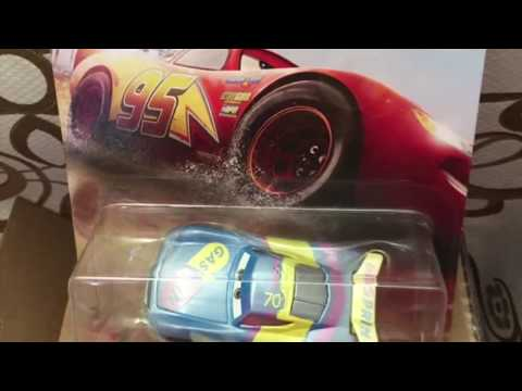New Cars 3 Diecasts Revealed! Fireball Beach, THOMASVILLE Cars.