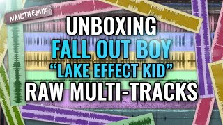 """Fall Out Boy """"Lake Effect Kid"""" raw multi-tracks [UNBOXING]"""