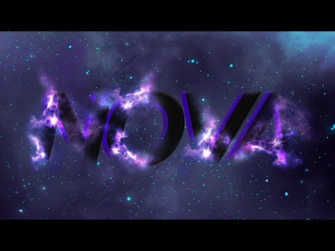 Glowing Space Text Effect – Photoshop Tutorial