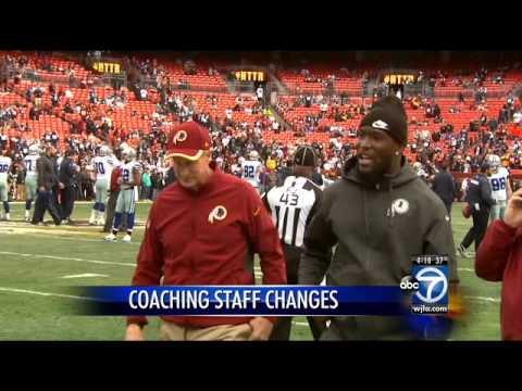 Jim Haslett out as Redskins' defensive coordinator