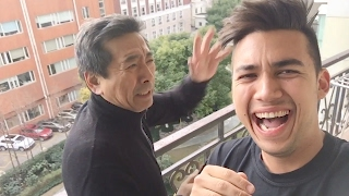 PRANKING MY DAD IN CHINA!!! 🇨🇳🇨🇳 #Father&SonGoals