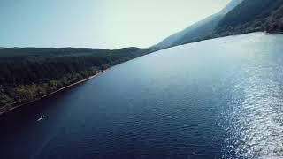 Dji FPV hill dive flight in Scotland