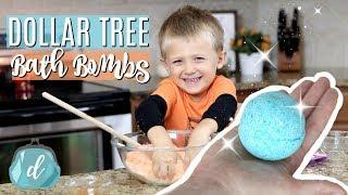 DOLLAR TREE DIY ✨ Cheap & Awesome Bath Bombs!