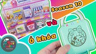 Mở ổ khóa bí ẩn và shopkins season 10 với những mini pack siêu dễ thương ToyStation 314
