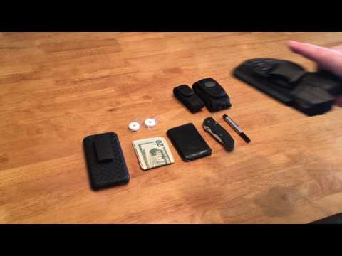 EDC Belt & Pocket Dump