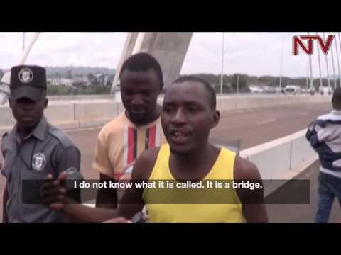 Jinja residents embrace source of the Nile bridge