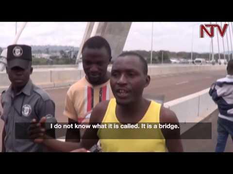 Jinja residents embrace source of the Nile bridge