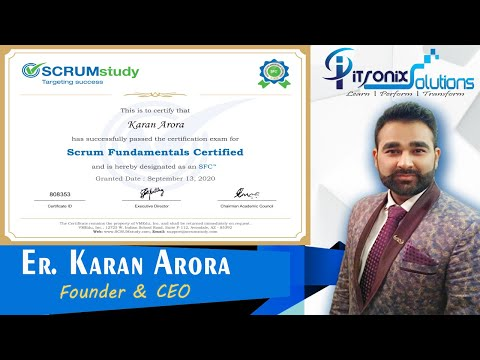 Scrum Fundamentals Certified Free Course with Certification ...