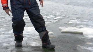 Смотреть онлайн Человек провалился под лед, что делать