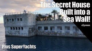 The Secret House Built into a Sea Wall!