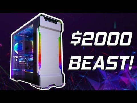 The ULTIMATE $2000 Gaming PC Build 2019! 😍