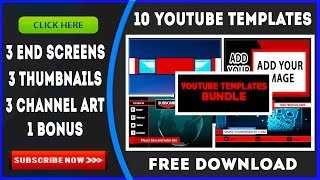 YouTube Template Bundle Download