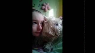 Моя собака умерла.Мы проводили мало времени вместе,но я бы все отдала,чтоб сказать ей что я её люблю