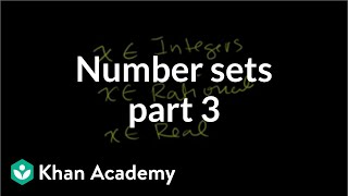 Number Sets 3