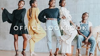 FALL WORK OUTFIT IDEAS OF THE WEEK 🍂 | Office Lookbook
