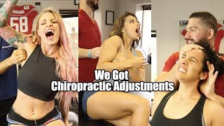 Fitness Models get their Bones cracked! (massive  compilation)