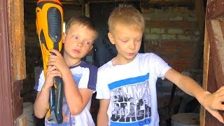 AN UNEXPECTED FINDING. NERF BATTLE. BROS SHOW
