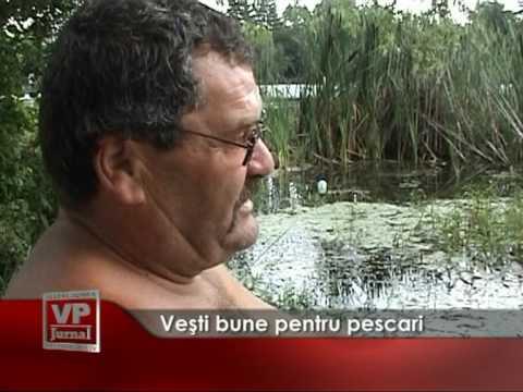 Veşti bune pentru pescari