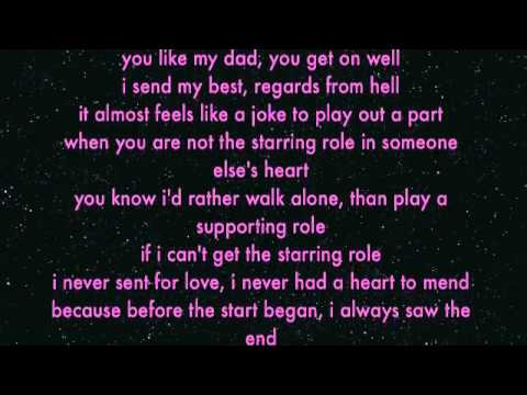 Starring Role chords & lyrics - Marina and the Diamonds
