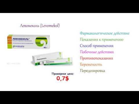 Левомеколь - инструкция по применению