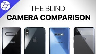 Samsung Galaxy S10+ vs Apple iPhone XS Max vs Samsung Galaxy Note9 vs Google Pixel 3 XL - Camera Test