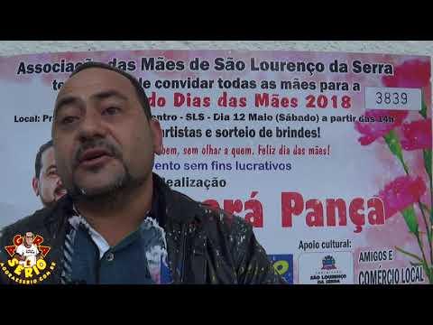 Ceará Pança convida a Todos para a Festa do Dia das Mães 2018 em São Lourenço da Serra