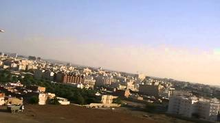 preview picture of video 'مشهد رائع  للمدينة المنورة من فوق جبل احد'