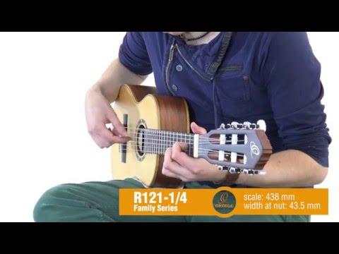 ORTEGA R121-1/4 Dětská klasická kytara