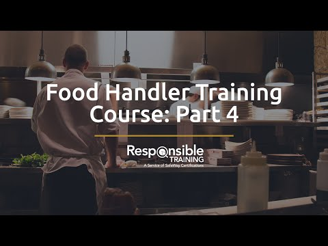 Food Handler Training Course: Part 4 - YouTube