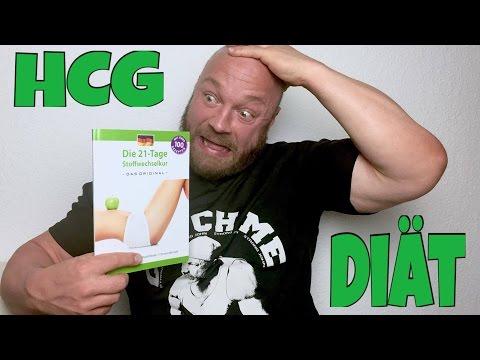 HCG Diät Test - 21 Tage Stoffwechselkur